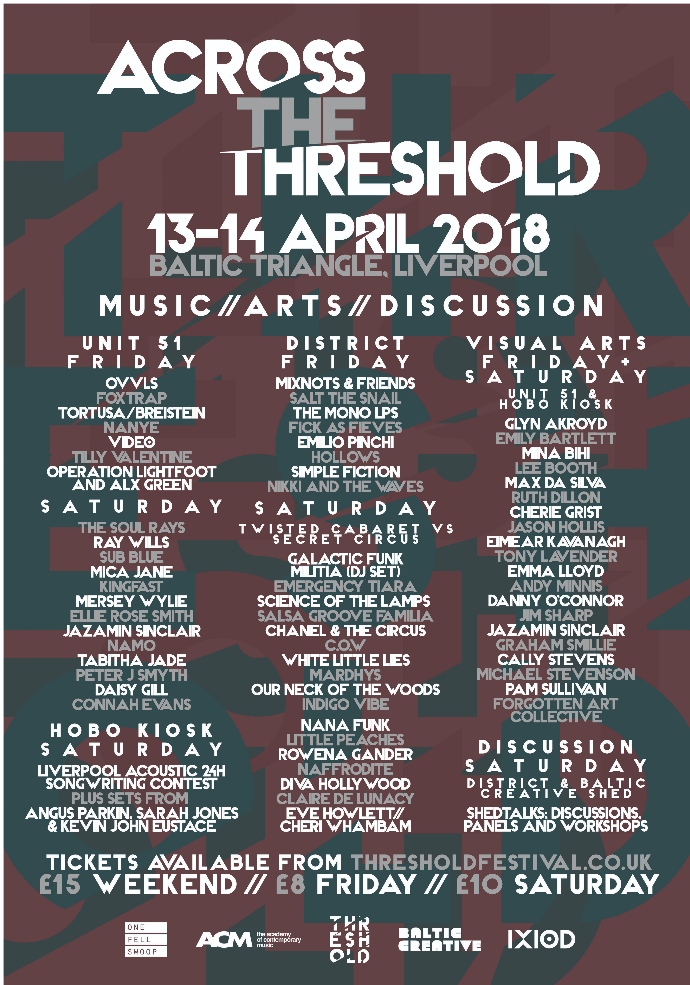 across the threshold poster 2018